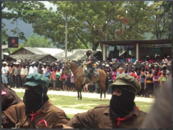 «Mεταξύ του φωτός και της σκιάς» Τα τελευταία λόγια του Subcomandante Marcos