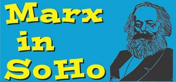 DEC 05, Θεατρικό «Ο Μαρξ στο Σόχο» από τους Φάντης Μπαστούνι