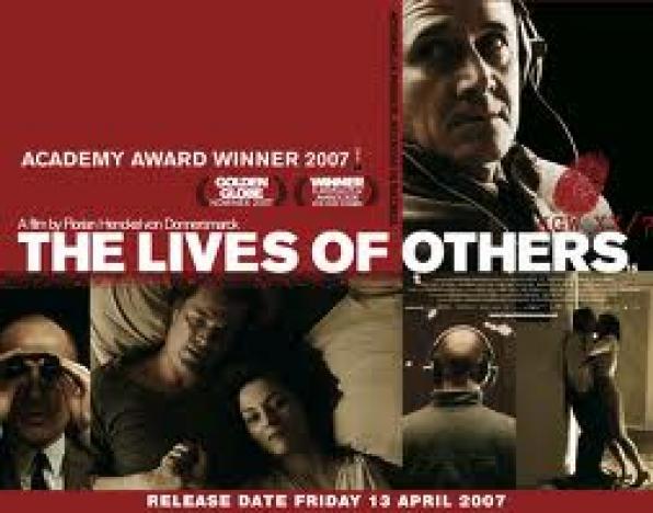 Προβολές Τετάρτης, 23/01,The lives of Others