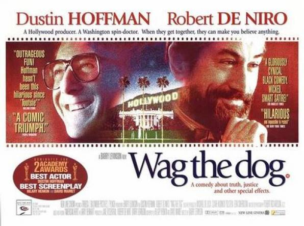 JAN 25 Προβολή ταινίας «Wag the dog»