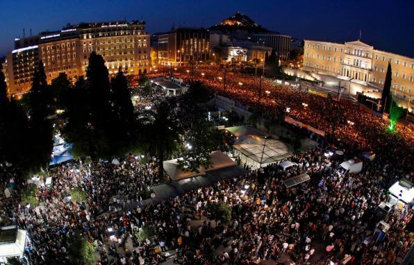 Βραδιά Μη Βίας για το Σύνταγμα, 7 Φλεβάρη 2013