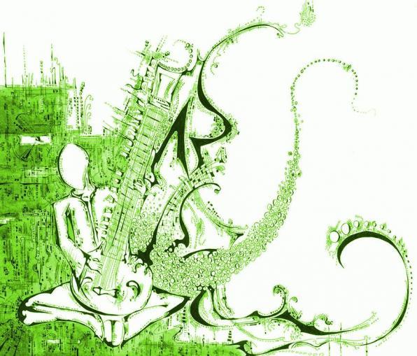 MAR 07 Τραγούδια και αυτοσχεδιασμοί με σιτάρ και κοντραμπάσο!