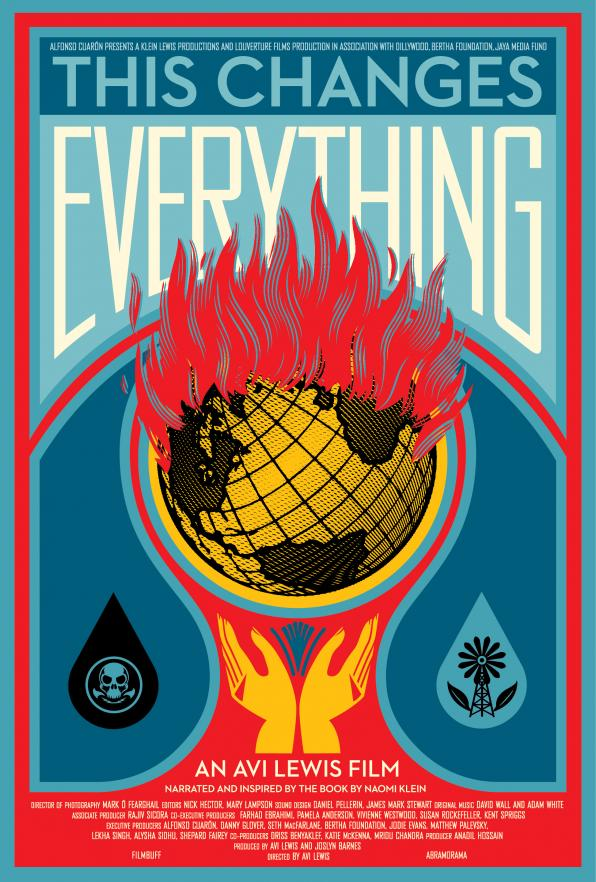 Τρίτη 23/2, 20.30: Προβολή Ντοκιμαντέρ 'This changes everything'