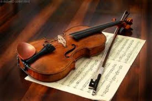 μουσική βραδιά με φωνή και βιολί