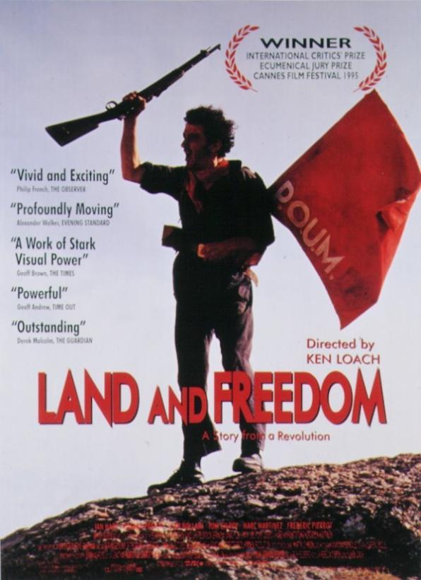Παρασκευή 31/3, Προβολή: Γη και Ελευθερία, Land and Freedom