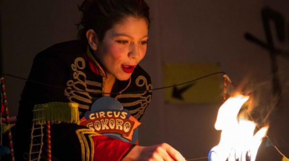 Κυριακή 30.04, Θέαμα: Circus Sokoro (τσίρκο ψύλλων) για τα παιδιά κάθε ηλικίας