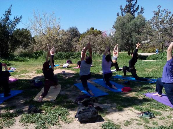 Παρασκευή 14/7, Πλατωνική yoga στο Πάρκο