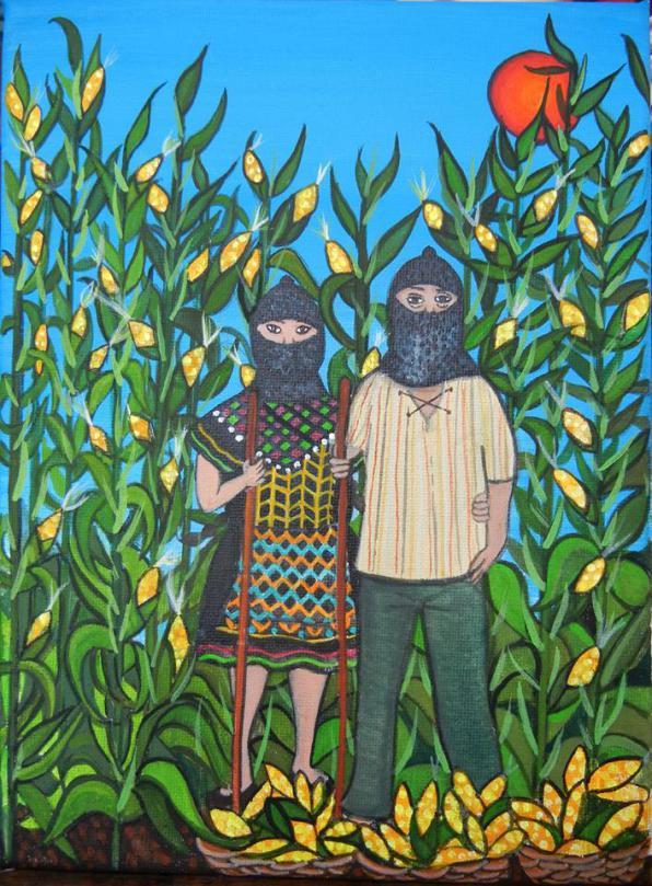 Παρασκευή 26/5, Zapatistas «Παραμύθια για τους Ανθρώπους του Καλαμποκιού»