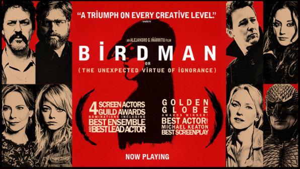 Πέμπτη 12/10, Προβολή: The Birdman