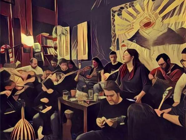 Παρασκευή 22/12, Μουσική Live: Ρεμπέτικο Γλέντι
