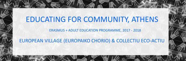 Σάββατο 13/1, Διάχυση Erasmus Plus, Collectiu Eco Actiu
