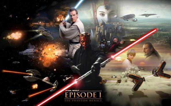 Πέμπτη 18/1, Προβολή:Ο πόλεμος των άστρων: Επεισόδιο 1 - Η αόρατη απειλή