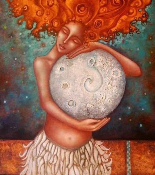 Παρασκευή 21/2, Κύκλος γυναικών Lunar Circle Κύκλος του Φεγγαριού Self Love