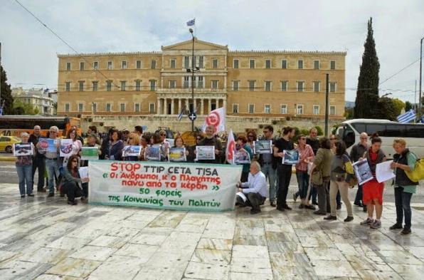 STOP TTIP, CETA, TPP & TiSA